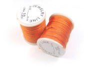 Nylon Schmuckband, 0,8 mm, orange