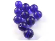 Perlen, 10 mm, deep ocean blue