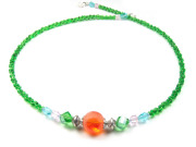 Collier 'Little Friends by T', orange